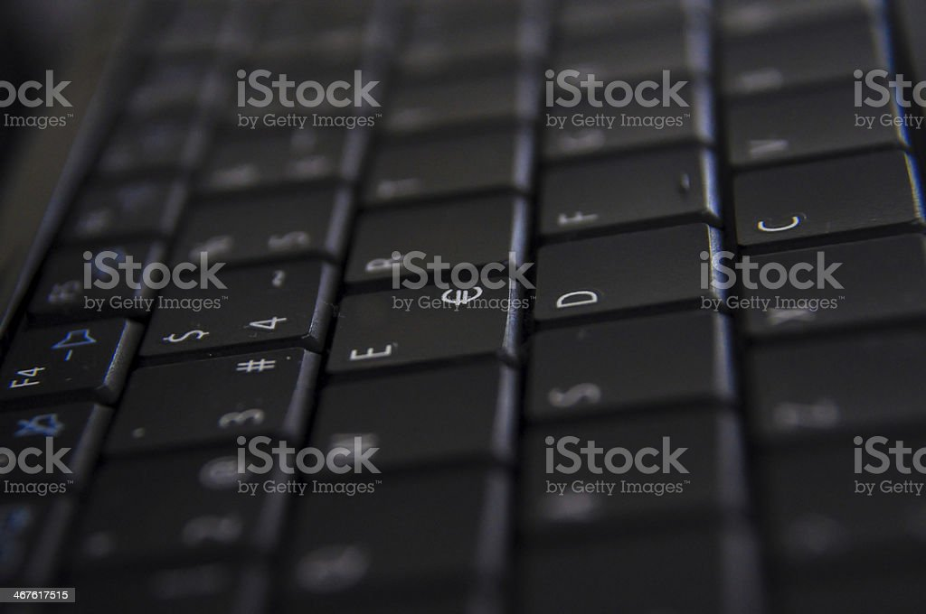 Teclas stock photo