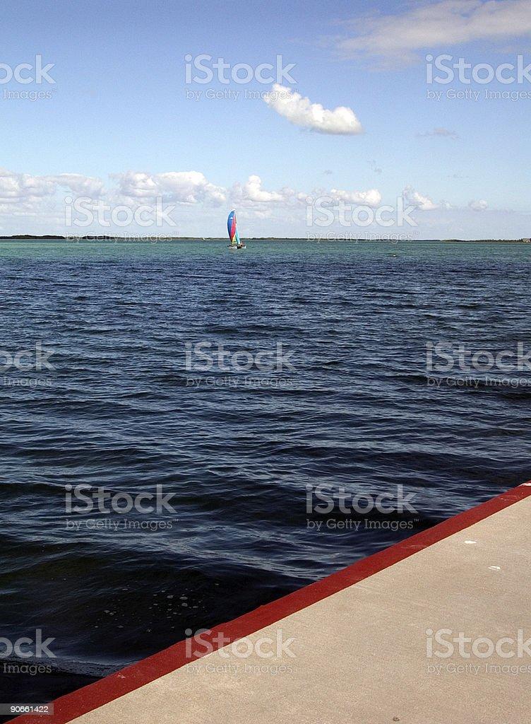 Keys Sailing royalty-free stock photo