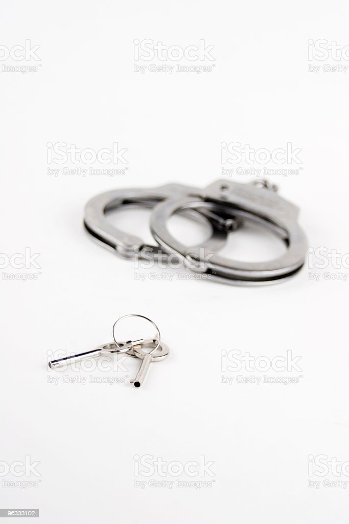 Keys to Freedom stock photo