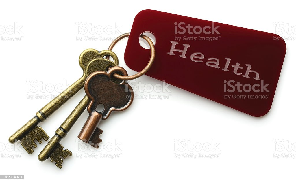 Keys to Health stock photo