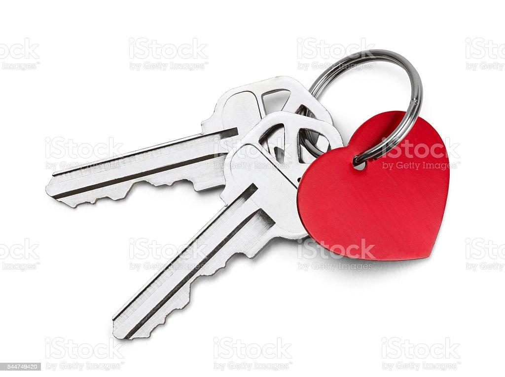 Keys to My Heart stock photo