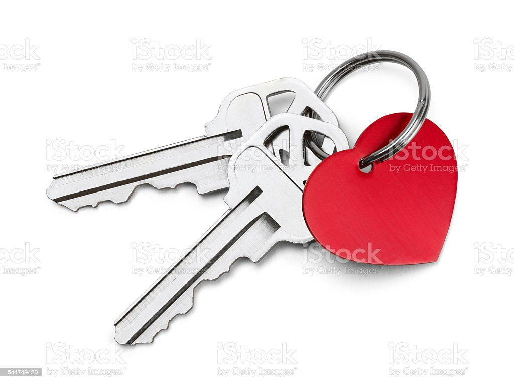 Keys to My Heart stock photo