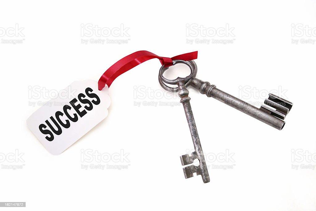 Keys to Success royalty-free stock photo