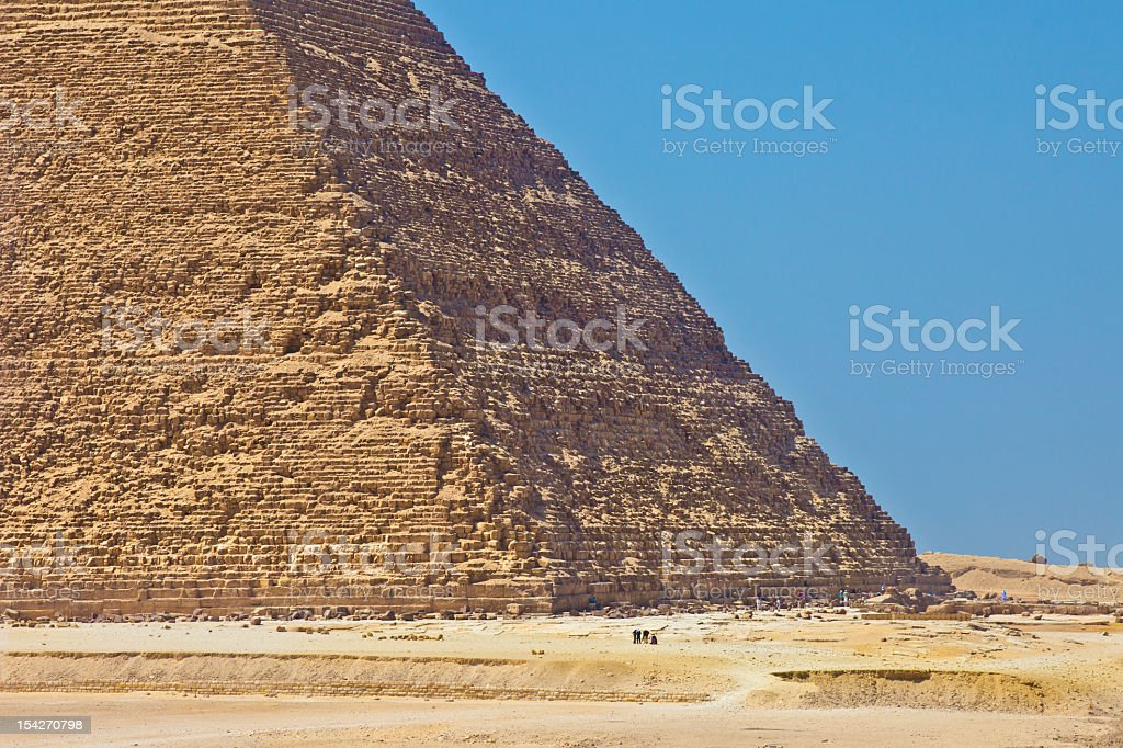 Khafre Pyramid royalty-free stock photo