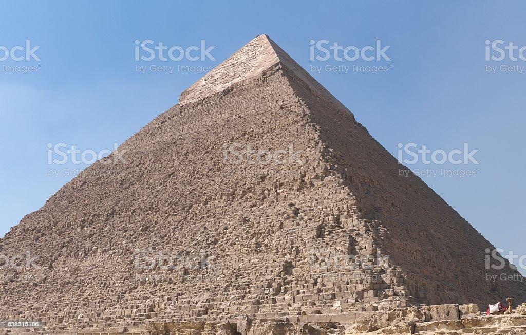 Khafre's Pyramid stock photo