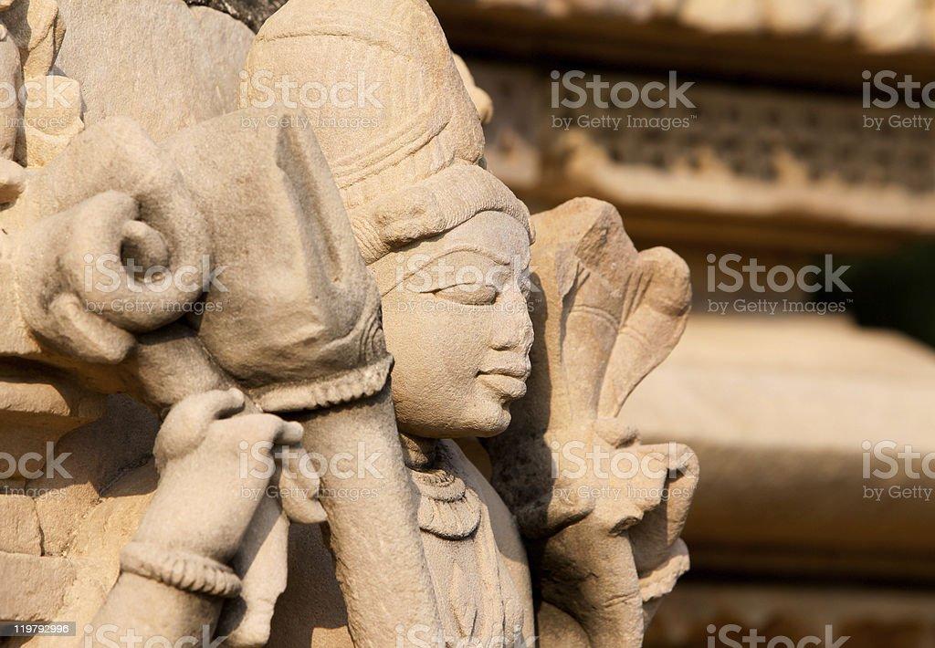 Khajuraho in Madhya Pradesh, India royalty-free stock photo