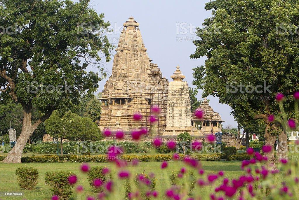 Khajuraho in Madhya Pradesh, India stock photo