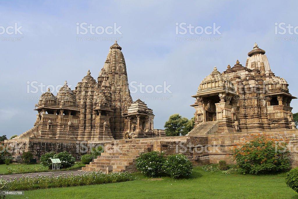 Khajuraho: Kandariya Mahadev Temple stock photo