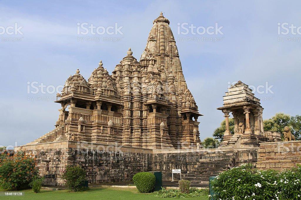 Khajuraho: Kandariya Mahadev Temple royalty-free stock photo