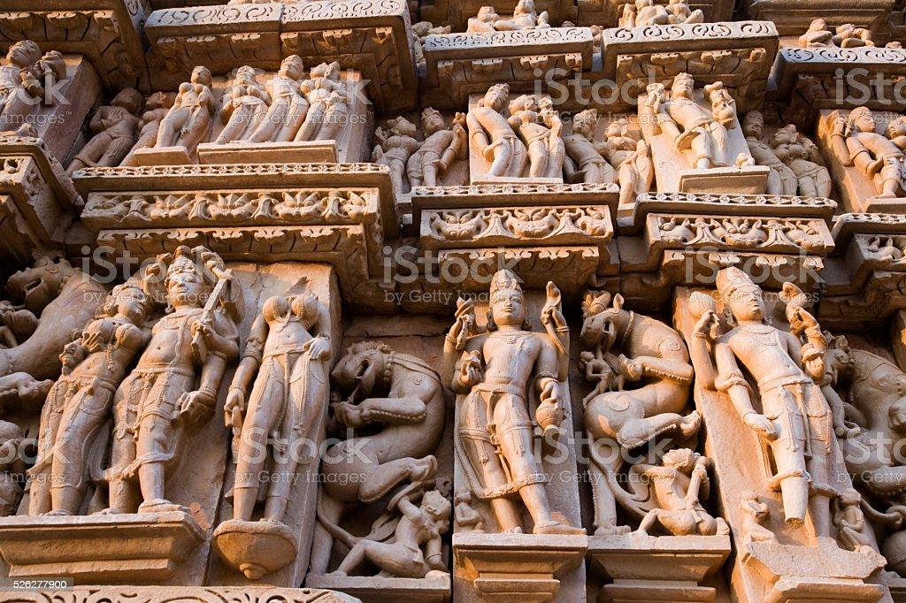 Khajuraho - Madhya Pradesh - India stock photo