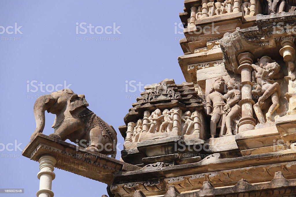 Khajuraho royalty-free stock photo