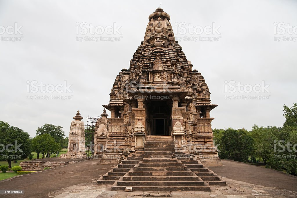 Khajuraho Temples, India stock photo