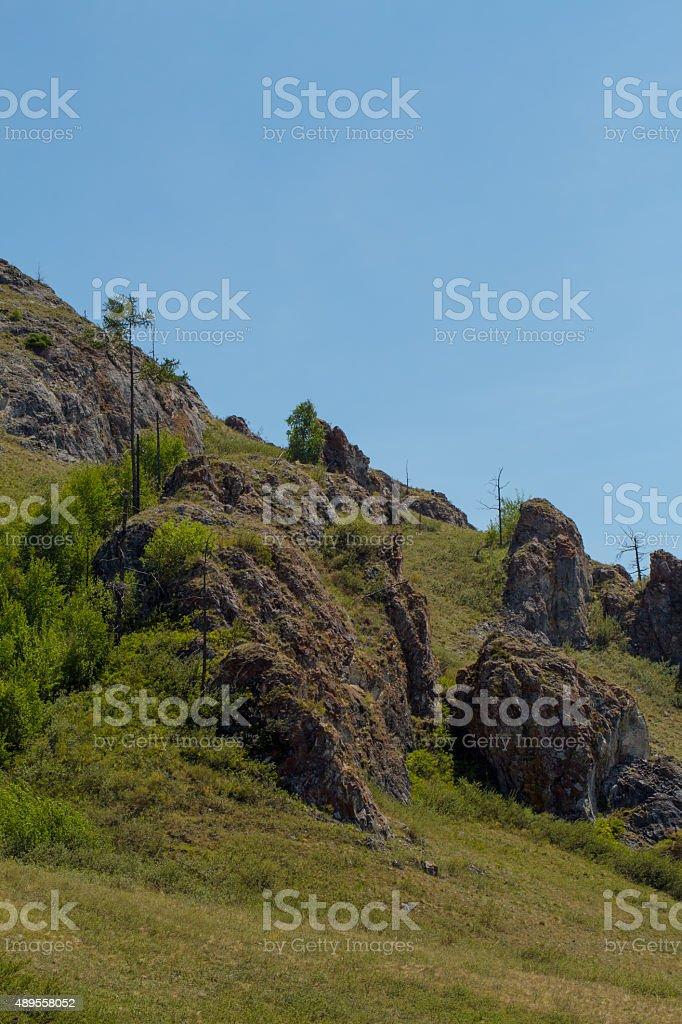 Khakassia stock photo