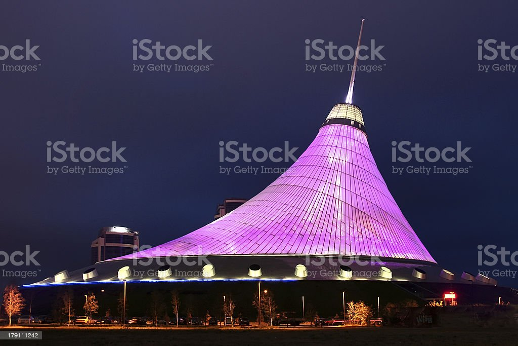 Khan Shatyr Astana. stock photo