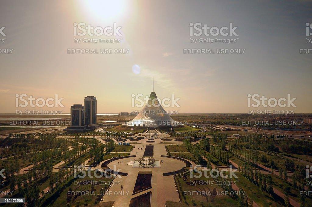 Khan Shatyr stock photo