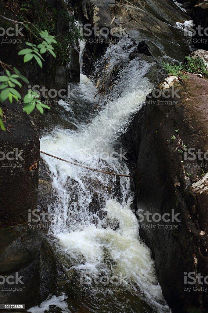 Khao Cha Mao Waterfall stock photo