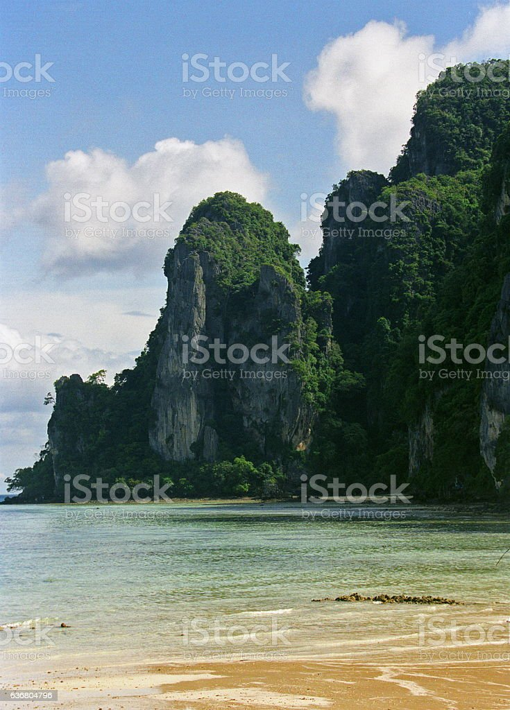 Khao Phing Kan Island in Thailand stock photo