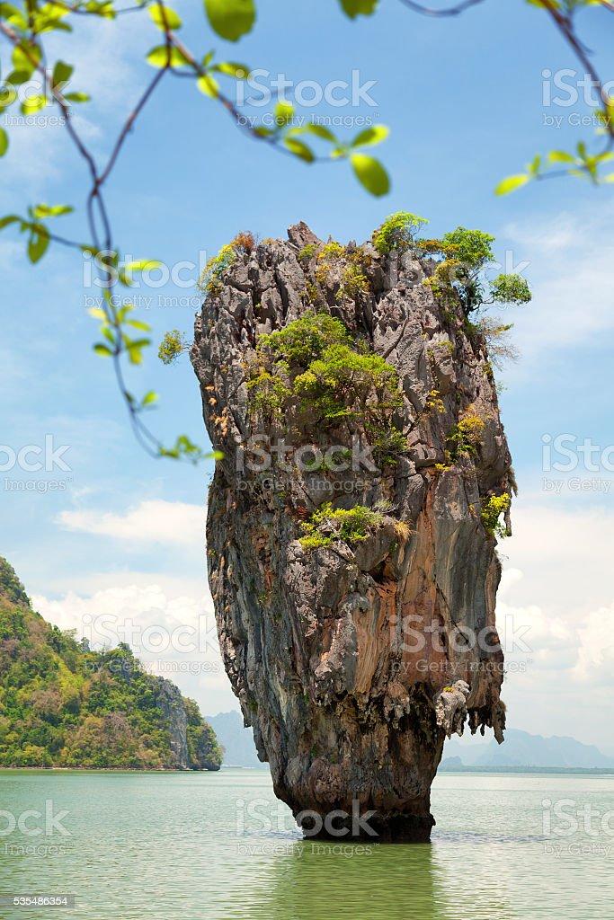 Khao Phing Kan, Thailand stock photo