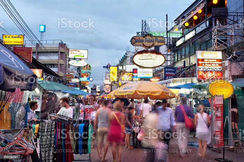 Khao San Road stock photo