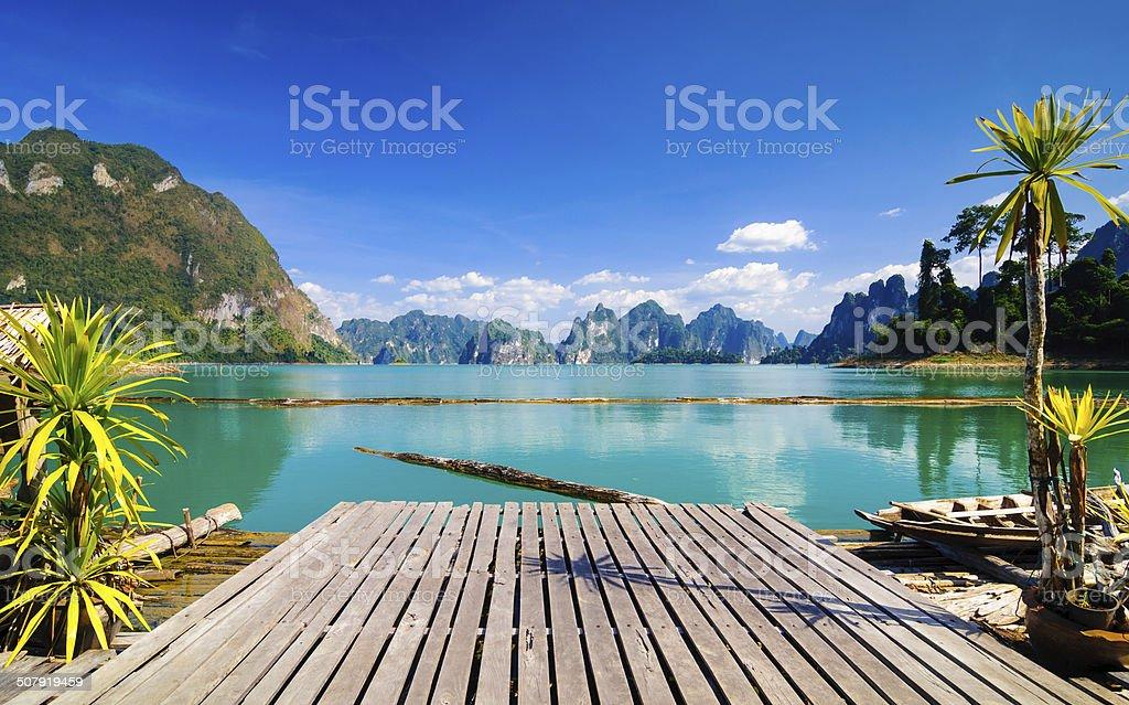 Khao Sok National Park, Thailand stock photo