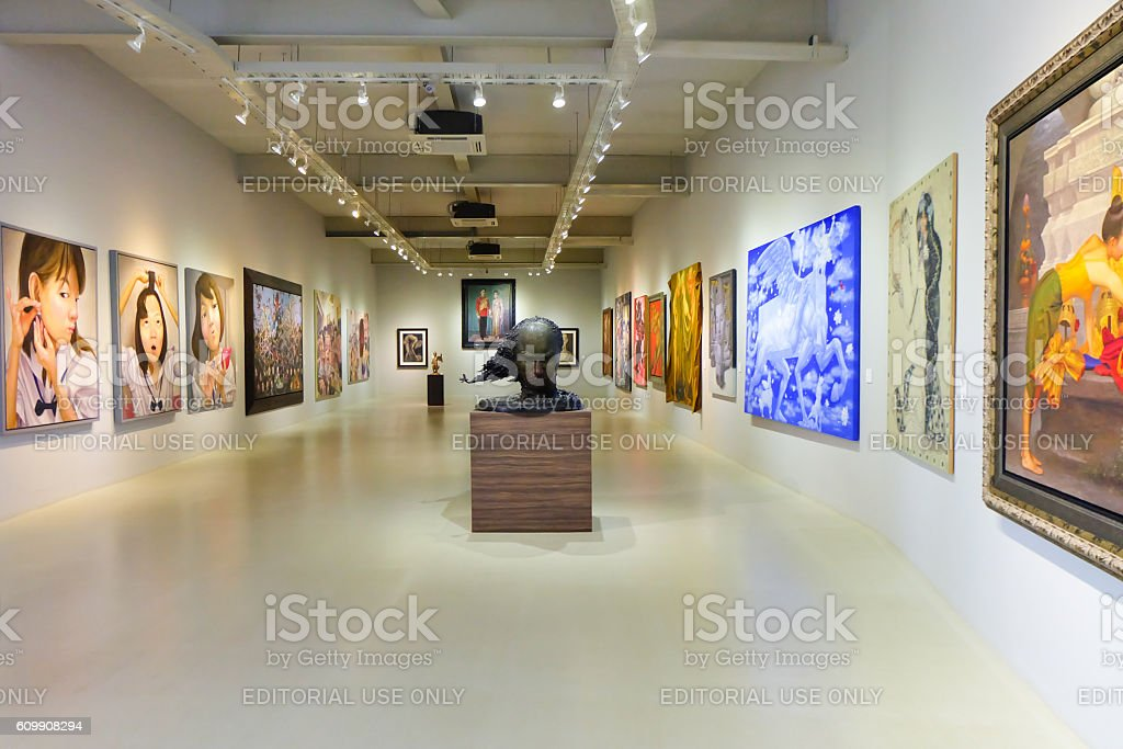 Khao Yai Art Museum stock photo