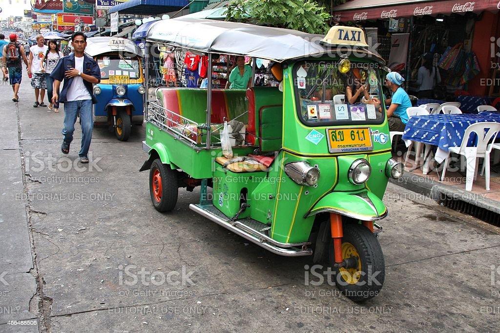 Khaosan Road, Bangkok stock photo