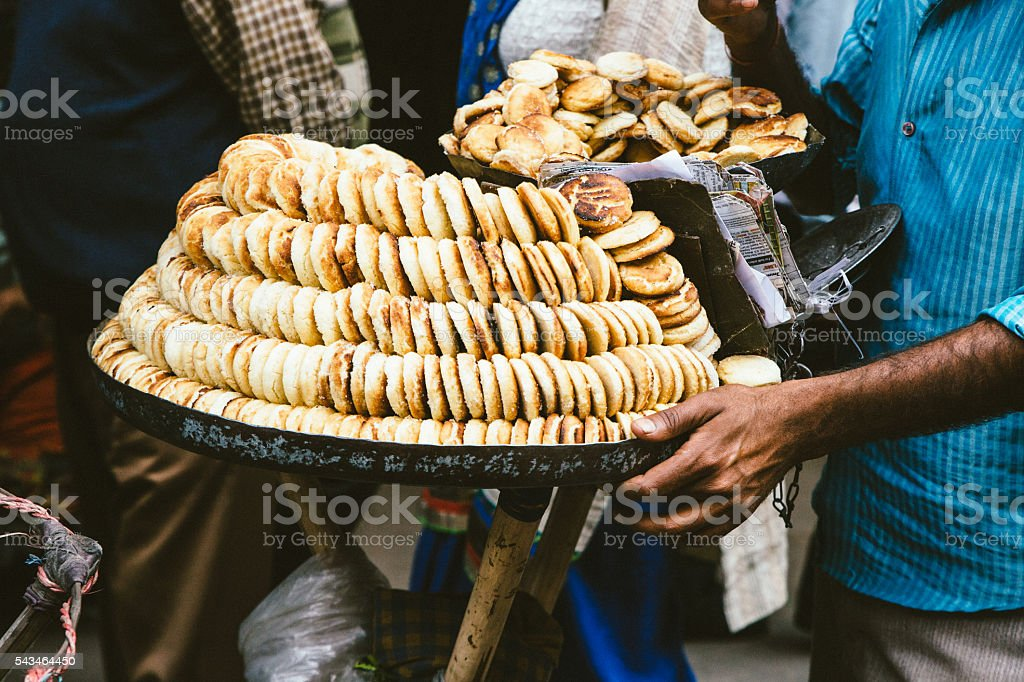 Khara biscuits stock photo