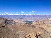 Khardungla Pass. Highest road in the World. Leh, Ladakh, India