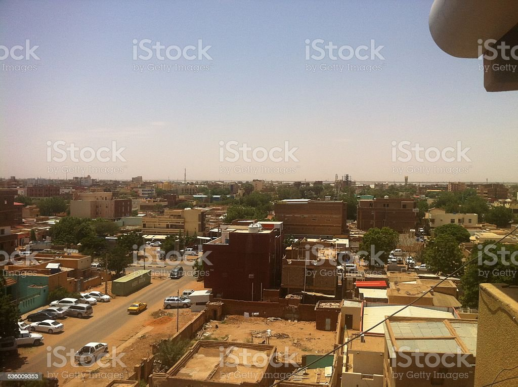 Khartoum 2 Area of Khartoum, Sudan stock photo