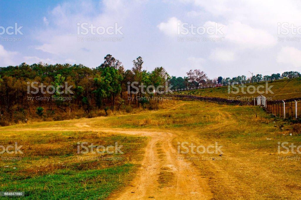 Khasi Hills - Beautiful Land of Meghalaya stock photo