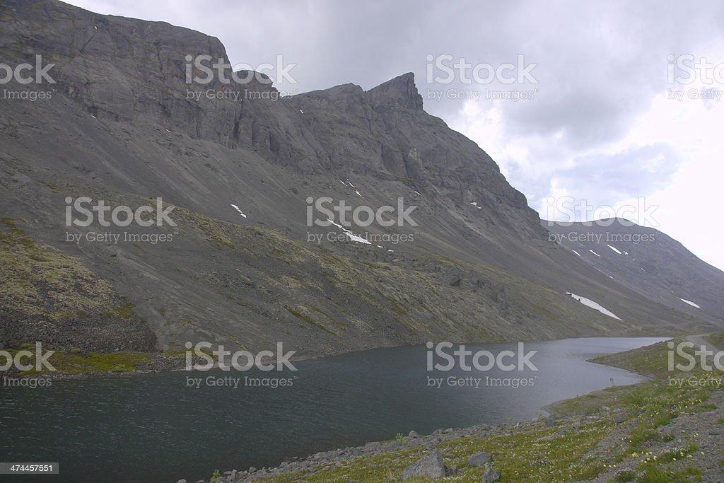 Khibiny Mountains royalty-free stock photo