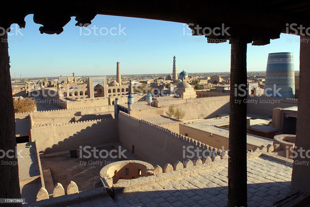 Khiva stock photo