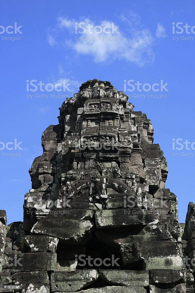 Khmer Architecture royalty-free stock photo