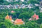 Khmer pagoda near Nui Cam nature reserve, Mekong Delta, Vietnam