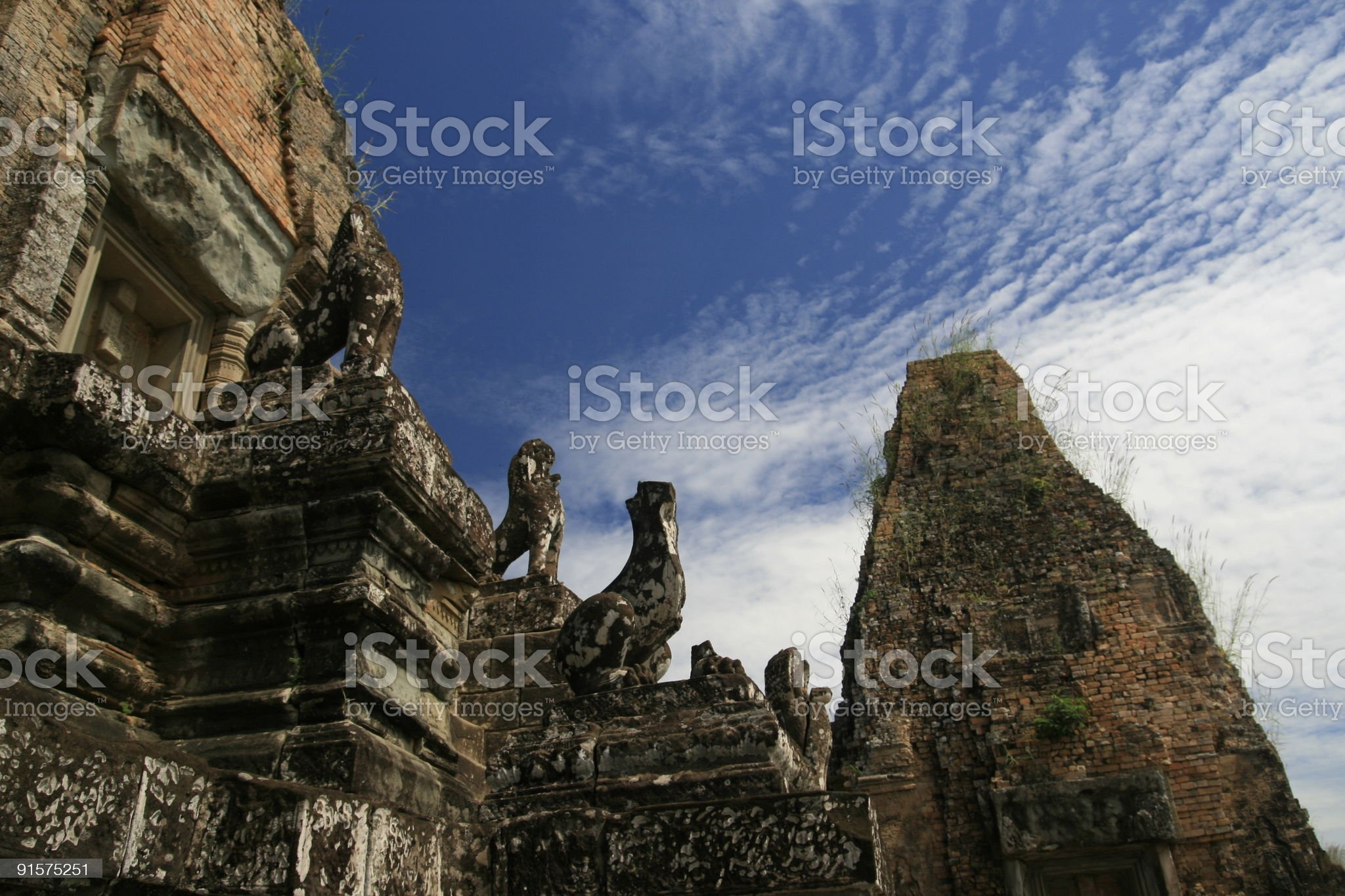 Khmer Temple royalty-free stock photo