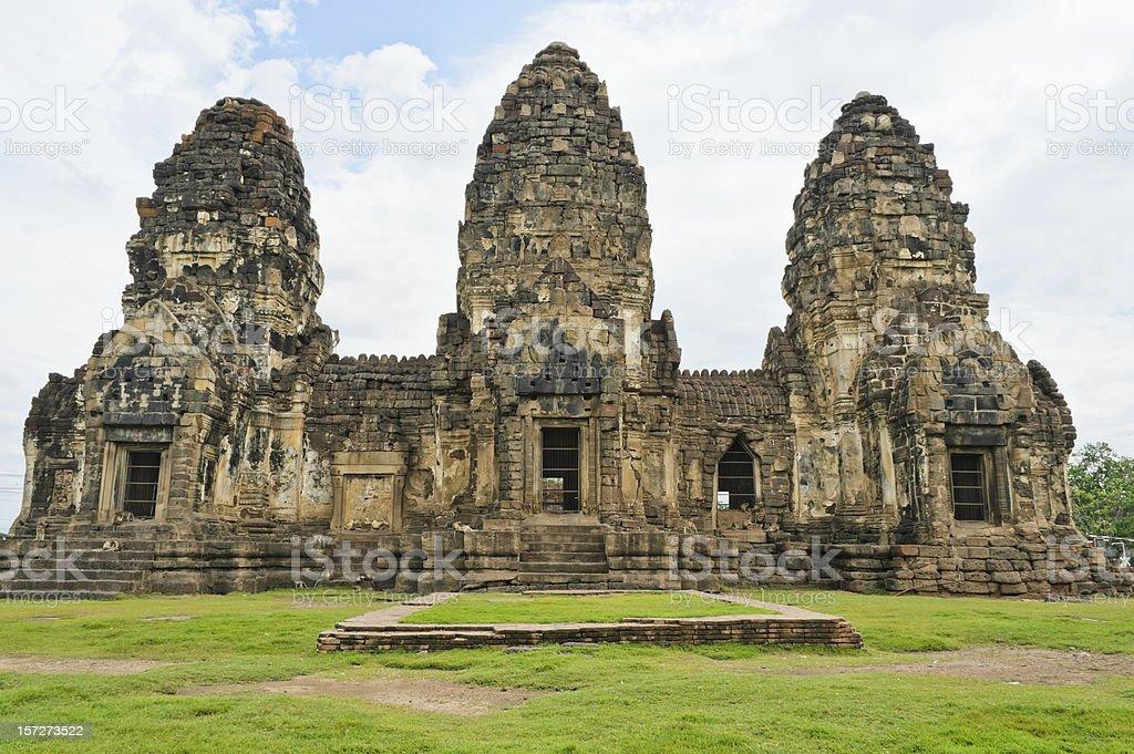 Khmer temple, Thailand stock photo
