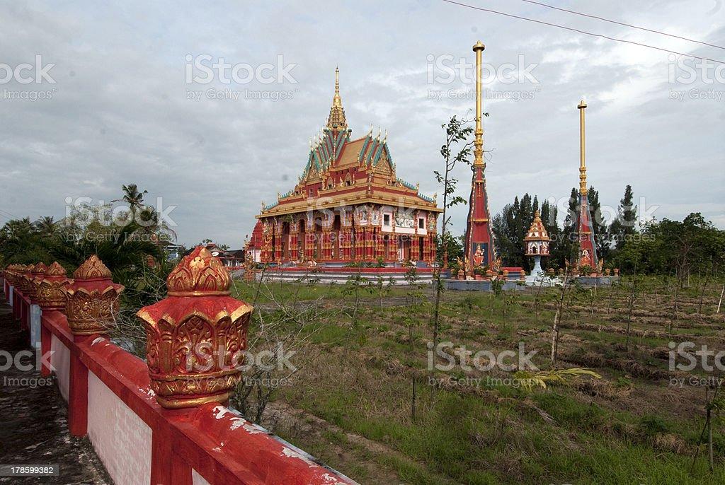 Khome pagoda royalty-free stock photo