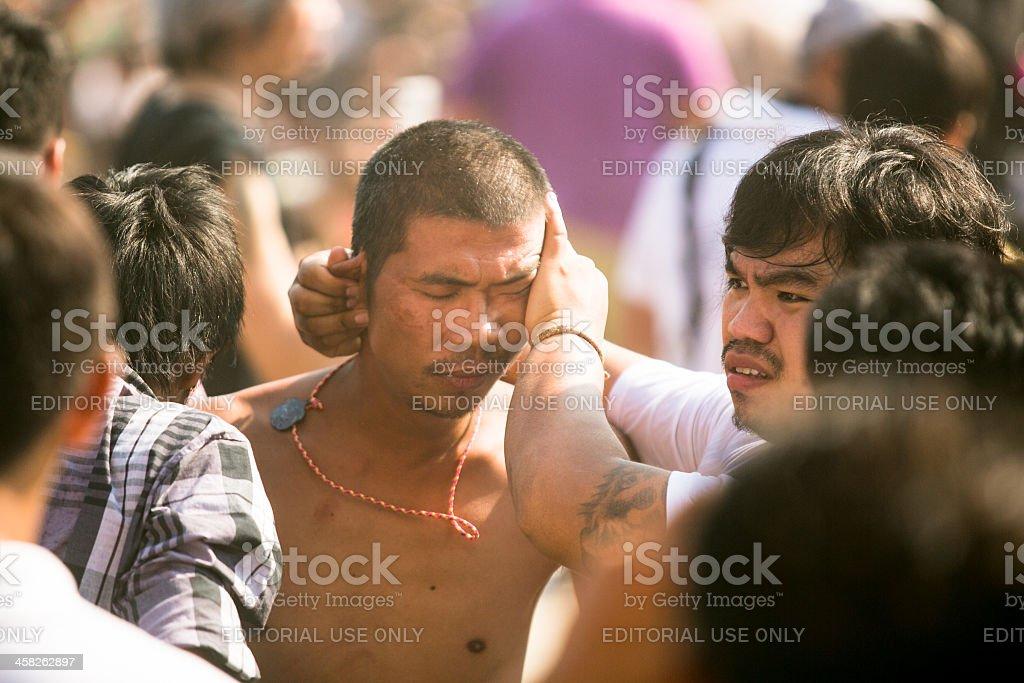 Khong Khuen - spirit possession stock photo