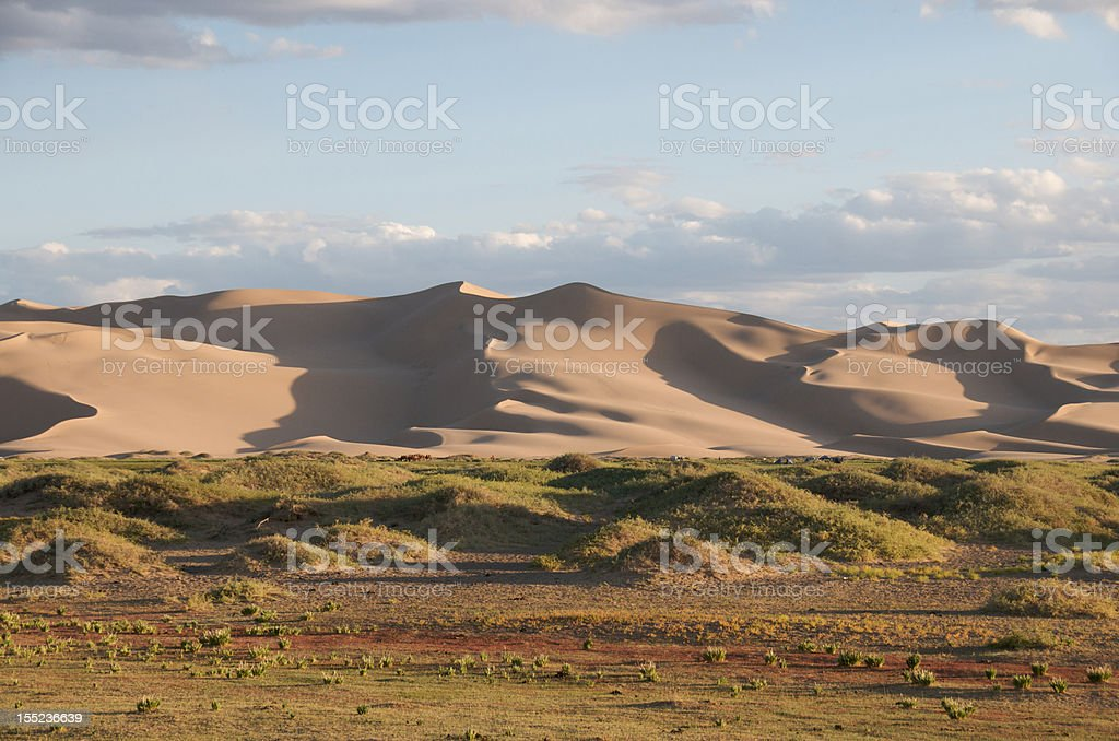 Khongoryn Els in late afternoon royalty-free stock photo