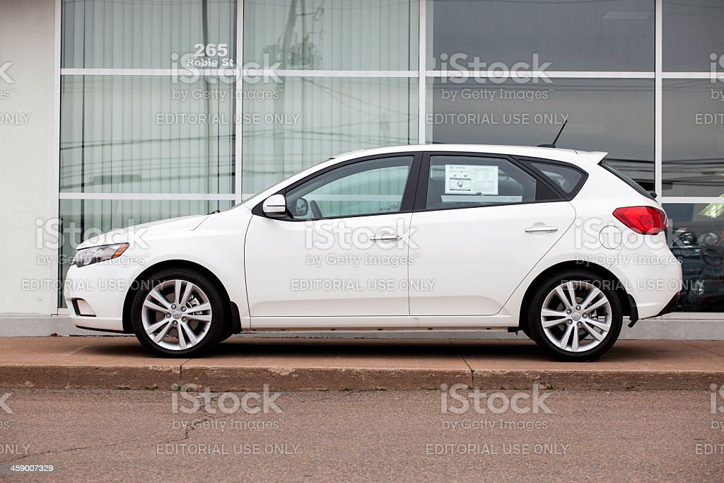 Kia Forte 5 Door royalty-free stock photo
