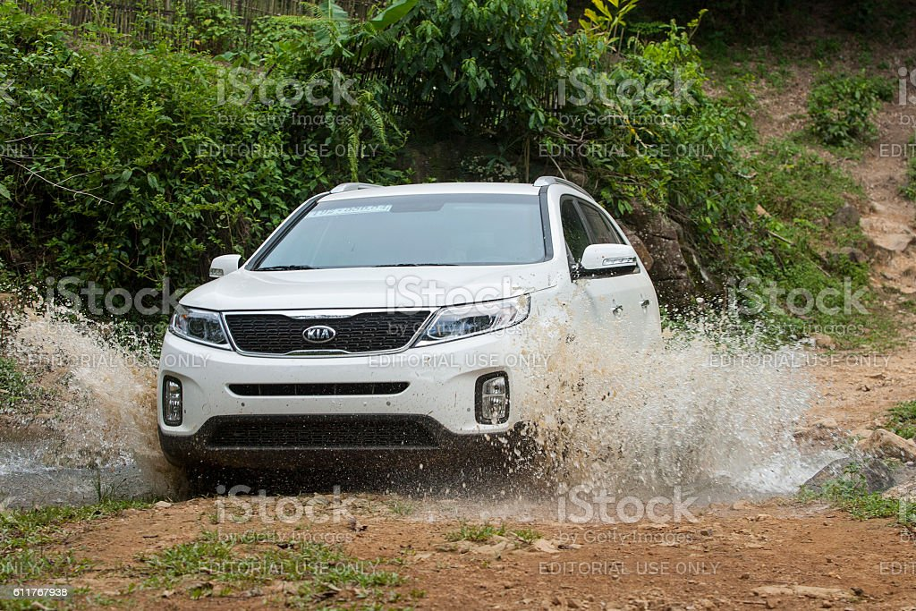 Kia New Sorento car stock photo