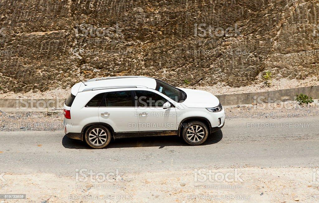 Kia New Sorento car stock photo
