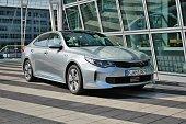 Kia Optima - plug-in hybrid sedan