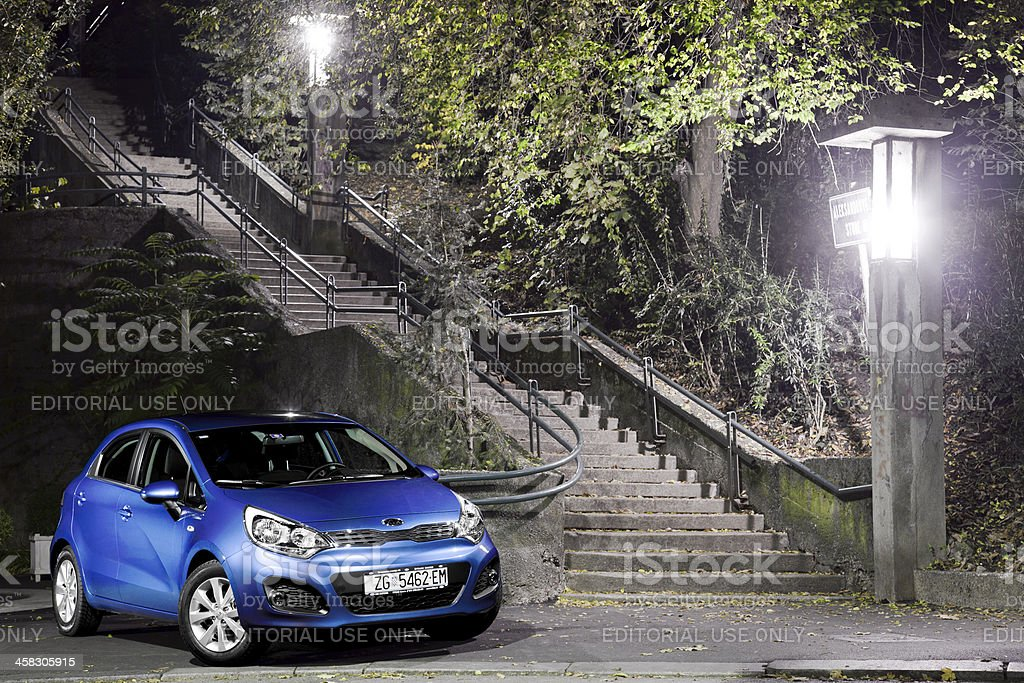 Kia Rio royalty-free stock photo