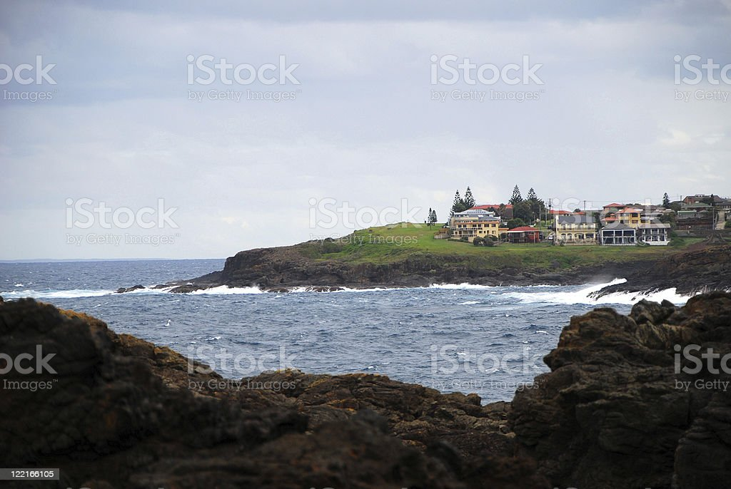 Kiama Living on the South Coast  of Australia, NSW Coastline stock photo