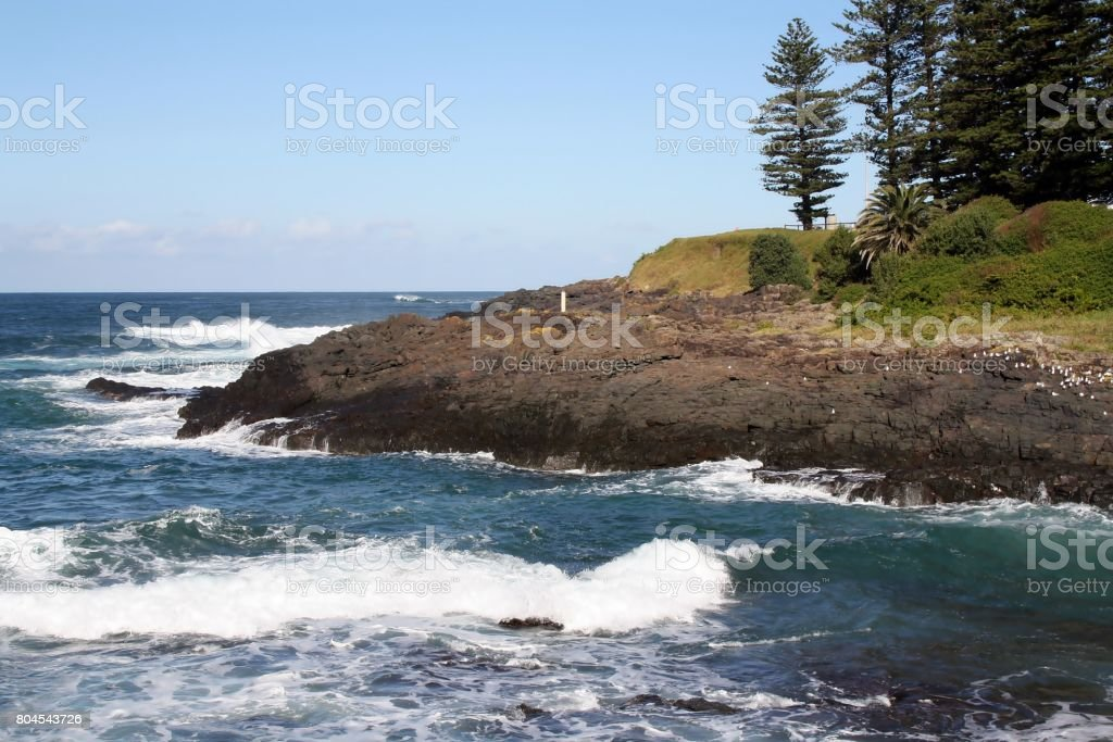 Kiama view, Australia stock photo
