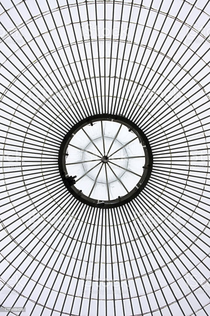 Kibble Palace Dome royalty-free stock photo