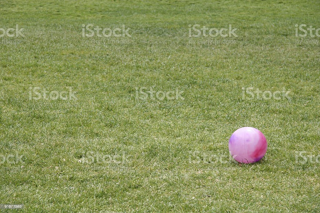 Kick Ball stock photo