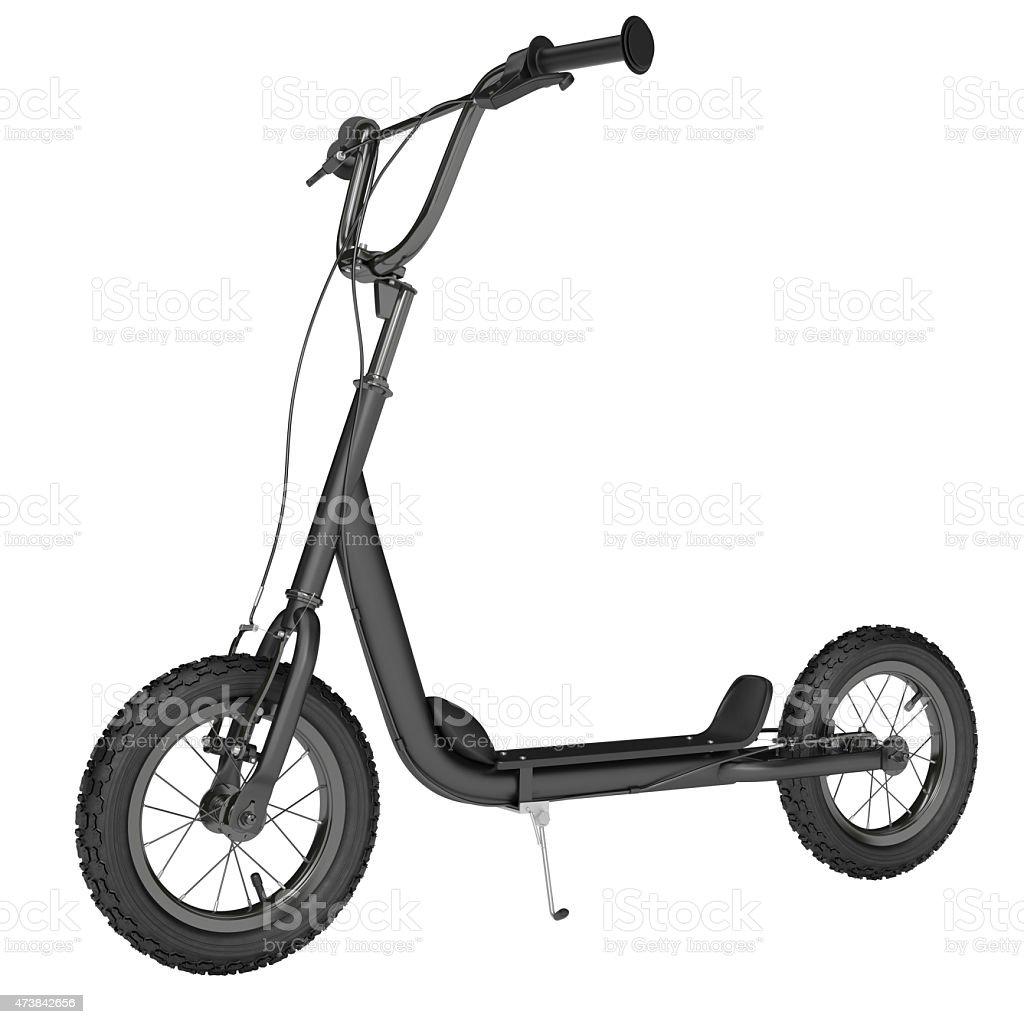 Kick scooter stock photo