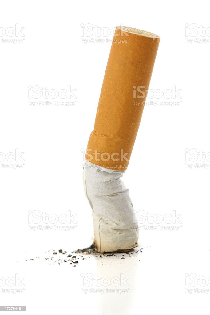 Kick the Habit stock photo